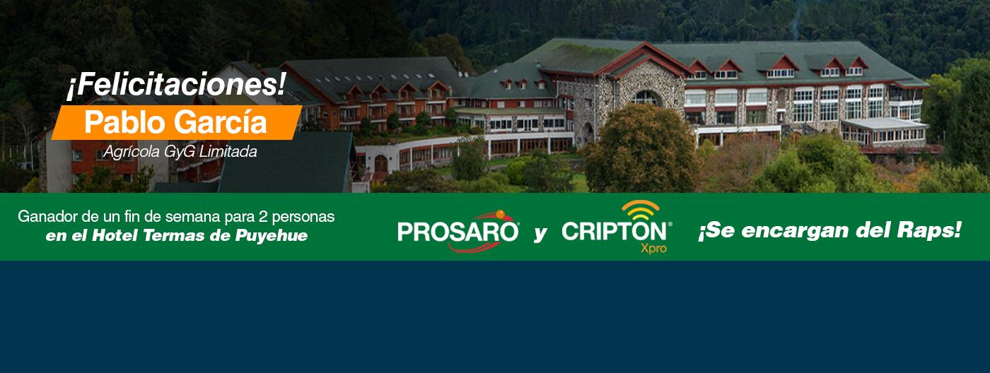 Ganador Cripton y Prosagro
