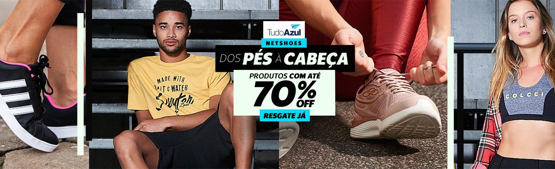 70% OFF DOS PES A CABEÇA