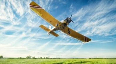 Aviação agrícola. Foto: Shutterstock