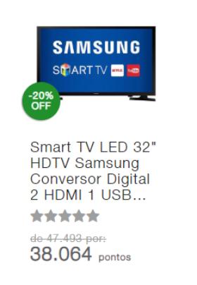 """SmarTV LED Samsung 32"""""""