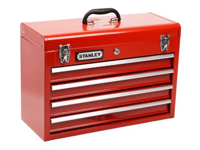Caixa Tipo Gabinete Stanley com 4 Gavetas