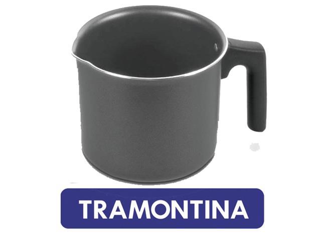 Fervedor Tramontina Aluminio Preto 12 cm - 1