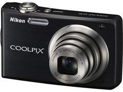 "Câmera Digital Coolpix S230 10.0MP 3.0"" Zoom Óptico 3X Nikon"