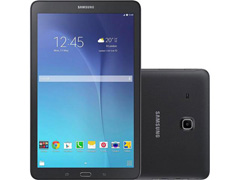 "Tablet Samsung Galaxy Tab E 3G Wi-Fi 8GB Tela 9.6"" 5MP QuadCore Preto"