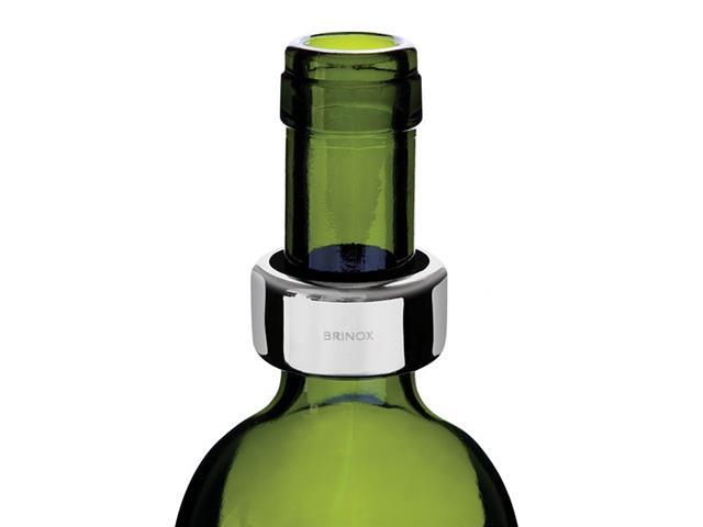 Anel para Garrafa de Vinho Brinox Aço Inox