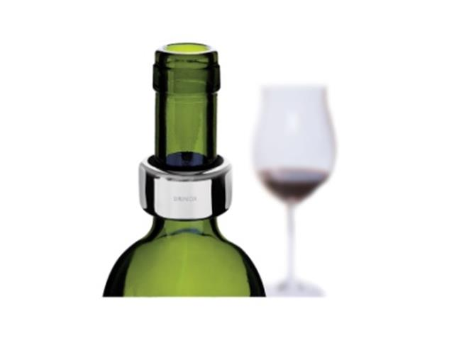 Anel para Garrafa de Vinho Brinox Aço Inox - 1