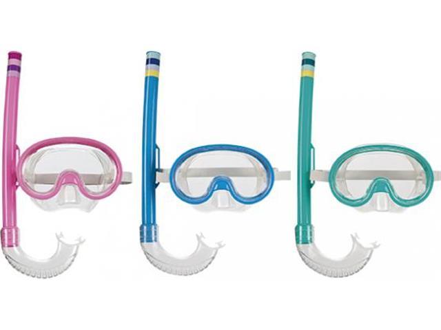 Máscara de Mergulho e Snorkel Infantil MOR Sortido