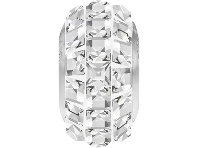 Becharmed Pavé Swarovski Cristal Quadrado Transparente