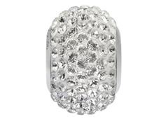 Becharmed Pavé Swarovski Bead Cristal - 0