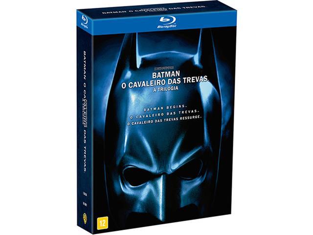 Blu-ray Batman O Cavaleiro das Trevas - A Trilogia (3 discos)