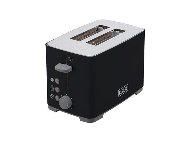 Torradeira Elétrica Black&Decker TO800 Preta 800W 220V