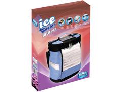 Bolsa Térmica Ice Cooler Dobrável MOR Azul com Alças 18 Litros - 5