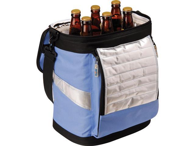 Bolsa Térmica Ice Cooler Dobrável MOR Azul com Alças 18 Litros - 2