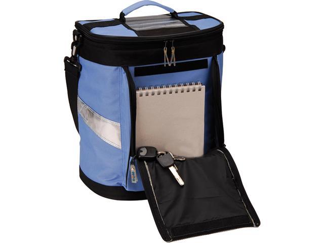 Bolsa Térmica Ice Cooler Dobrável MOR Azul com Alças 18 Litros - 1