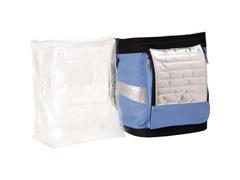 Bolsa Térmica Ice Cooler Dobrável MOR Azul com Alças 18 Litros - 4