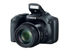 Câmera Digital Canon Powershot SX520HS Preta 16.0MP LCD 3,0 Zoom 42x
