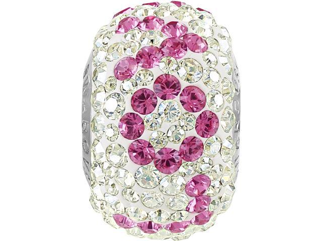 BeCharmed DSE love decorado com cristais da Swarovski® rosa