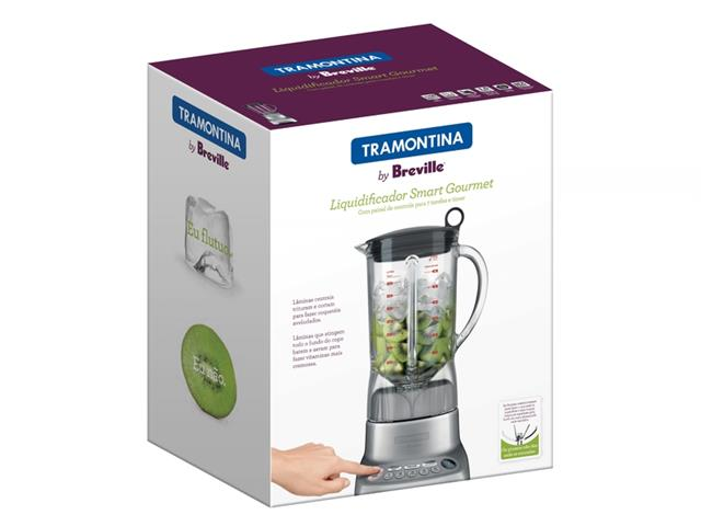 Liquidificador Tramontina by Breville Smart Gourmet 1,5 L Inox 220V - 4