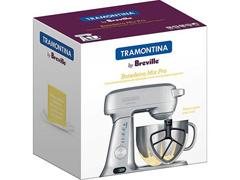 Batedeira Planetária Tramontina Breville Mix Pro Prata 110V - 4