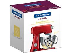 Batedeira Planetária Tramontina Breville Mix Pro Vermelho 220V - 4
