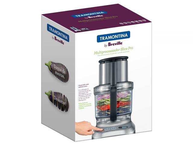 Multiprocessador de Alimentos Tramontina by Breville Alumínio - 5