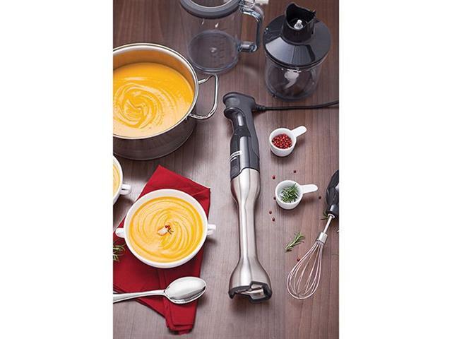 Mixer Tramontina Soft by Breville Soft Aço Inox Prata e Preto - 7