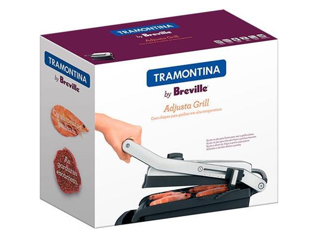 Grill Elétrico Tramontina by Breville Aço Inox Adjusta 110V - 2