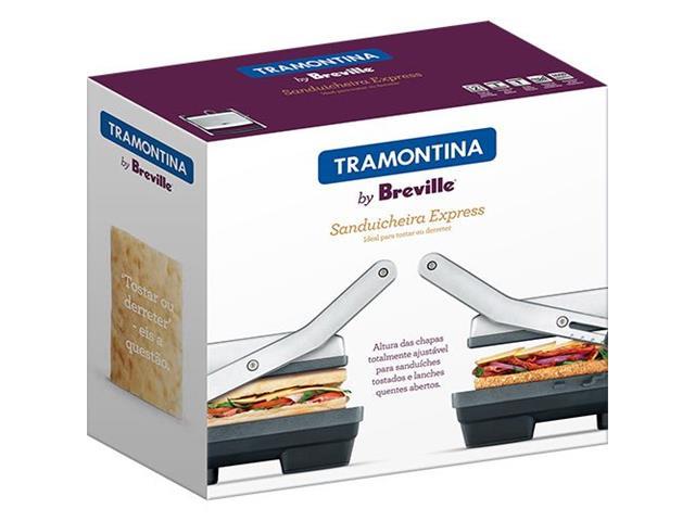 Sanduicheira Tramontina by Breville Express em Aço Inox 110V - 4
