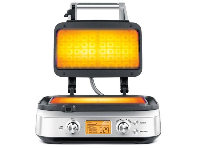 Máquina de Waffle Tramontina Smart by Breville Aço Inox - 2