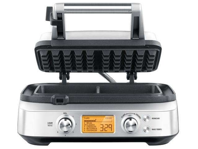 Máquina de Waffle Tramontina Smart by Breville Aço Inox - 1