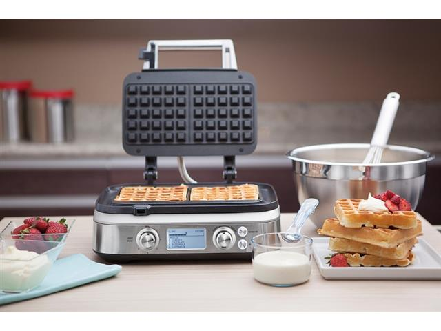 Máquina de Waffle Tramontina Smart by Breville Aço Inox 110V - 4