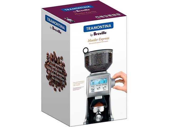 Moedor Elétrico de Café Tramontina by Breville Express Aço Inox 220V - 6