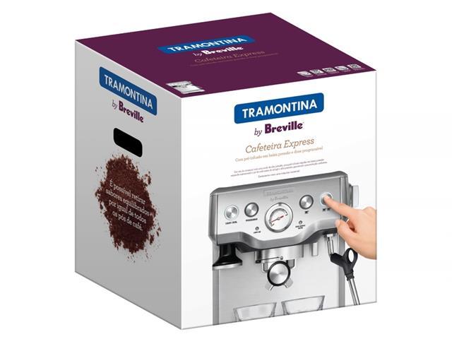Cafeteira Elétrica Tramontina by Breville Express Inox 110V - 5