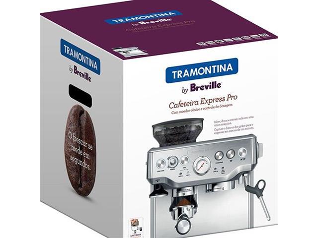 Cafeteira Elétrica Tramontina by Breville Express Inox Pro 110V - 3