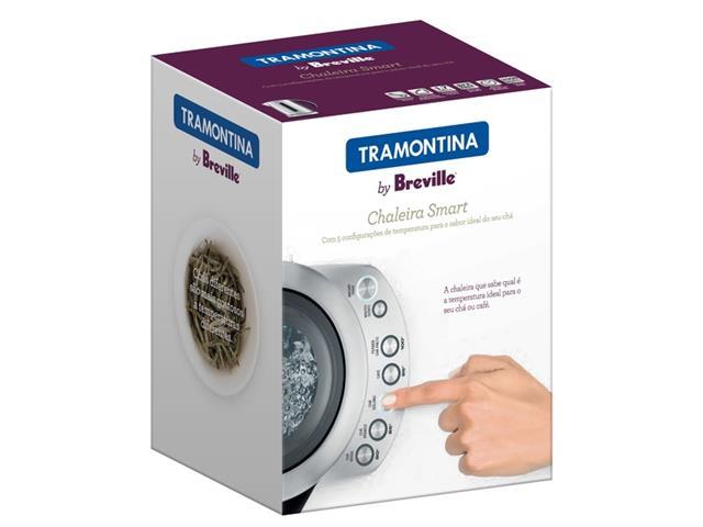 Chaleira Elétrica Tramontina By Breville Smart Aço Inox 1,7 L 110V - 4