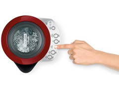 Chaleira Elétrica Tramontina Smart Vermelha 1,7 L 220V - 1