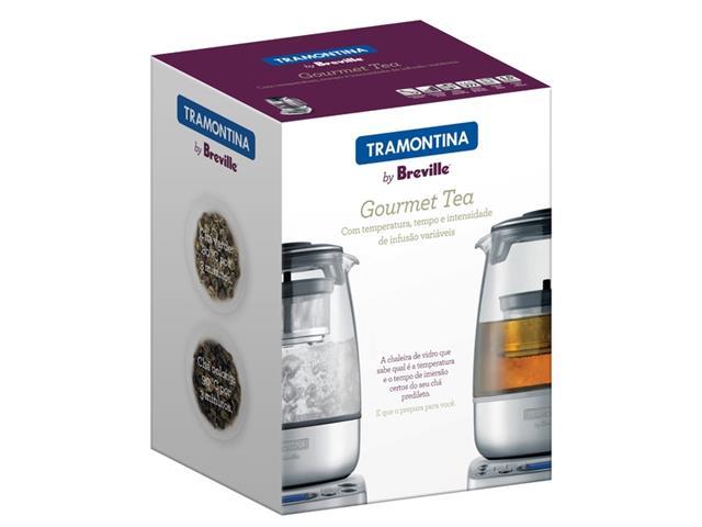 Bule Elétrico Tramontina para Chá Gourmet Tea 1,5L 220V - 5