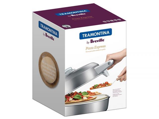 Forno Elétrico para Pizza Tramontina Breville Express Aço Inox 110V - 4