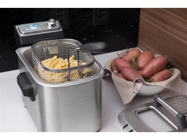 Fritadeira Elétrica Tramontina Smart Aço Inox 220V - 4