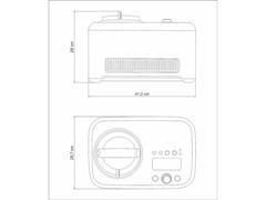 Sorveteira Tramontina Breville Gelato Express Aço Inox 220V - 7