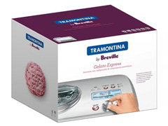 Sorveteira Tramontina Breville Gelato Express Aço Inox 220V - 6