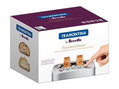 Torradeira Elétrica Tramontina Breville Smart Aço Inox - 5