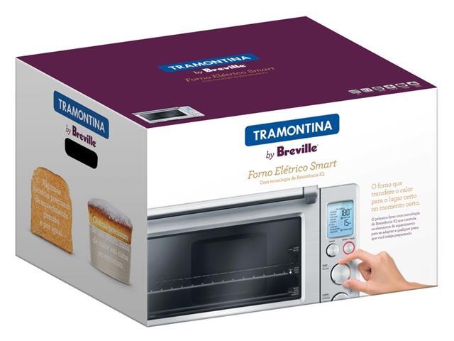 Forno Elétrico Tramontina Breville Smart Aço Inox 220V - 4