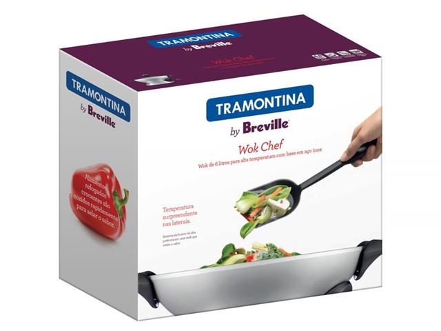 Panela Elétrica Tramontina by Breville Wok Chef - 3