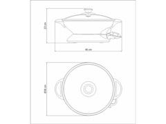 Panela Elétrica Tramontina by Breville Wok Chef 110V - 4