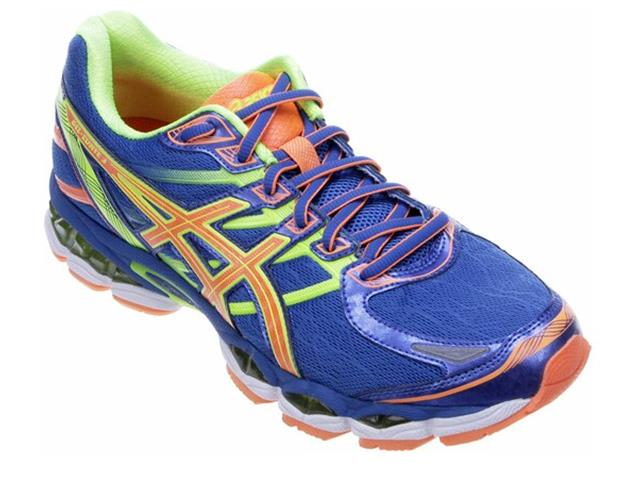 Tênis Asics Gel Evate 3 E Blue/H Orange/Flash Yellow