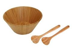 Conjunto Saladeira MOR Bamboo 3 Peças