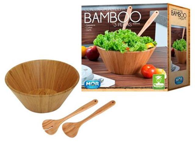 Conjunto Saladeira MOR Bamboo 3 Peças - 4