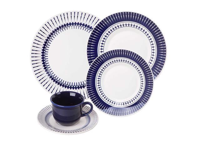 Aparelho de Jantar e Chá Oxford Biona Actual Colb 30 peças