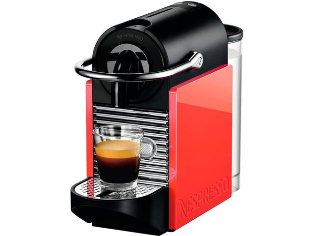 Cafeteira Nespresso Automática Pixie Clips Branca e Coral Neon - 5